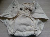 Image: Organic Cotton Hemp Jersey Diapers