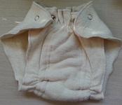 Image: Organic Cotton Hemp Fleece Diapers