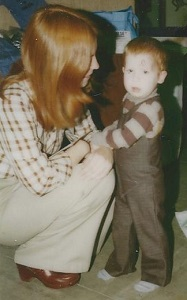 Image: Michael at 2 years old