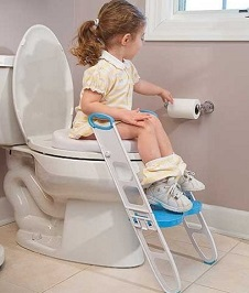 Image: Mommy's Helper Contoured Cushie Step Up | the perfect potty training tool