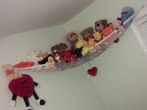 Image: Deluxe Pet Net - Stuffed Animal and Toy Organizer - Perfect storage for plush animals and dolls and other collections