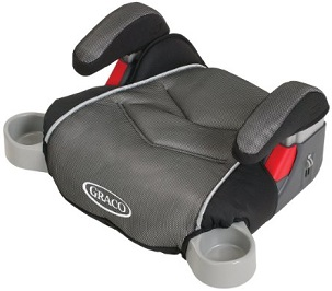 Image: Graco Backless TurboBooster Car Seat | safely transport your 'big kid' from ages 4 -10, from 40 - 100 pounds; and up to 57 inches tall