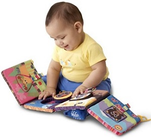 Image: Lamaze Discovery Shapes Activity Puzzle and Crib Gallery - Shape and picture matching promote cognitive and fine motor development