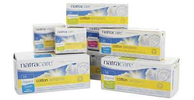 Image: Natracare Menstrual Pads | Certified organic 100% cotton | Totally chlorine and plastic free | No synthetic materials, chemical additives such as binders or surfactants, fragrances or dyes